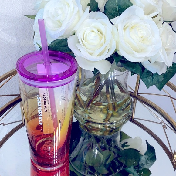 Starbucks Summer Ombré Glass Cold Cup - 18oz